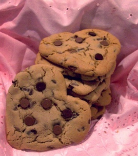 food, cookie and heart