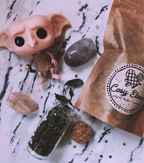flying parcel, dobby and crystals
