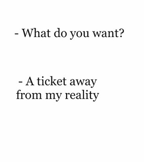 life, ticket and her