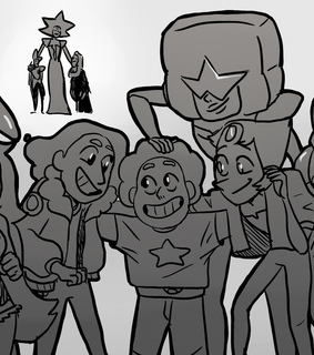 steven universe, crystal gems and pearl