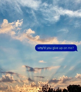 text messages, clouds and phrases