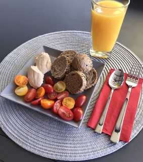 meal, breakfast and hummus