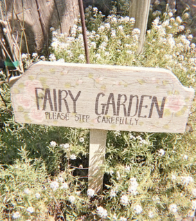 fairy garden, soft and sweet