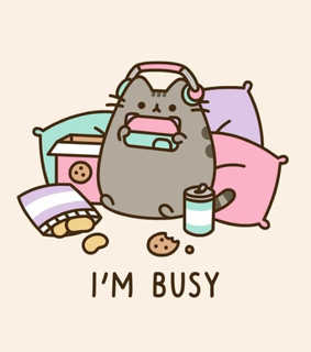 Pusheen Wallpaper Images On Favim Com