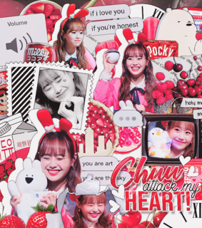 chuu, edit and overlay