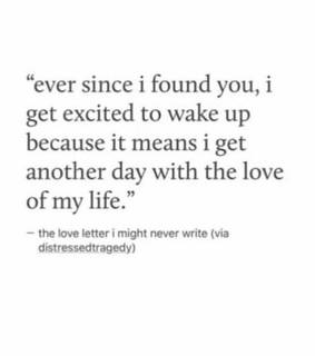 love letter, another day and ever since