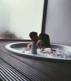 hot couple, relationship goals and bath