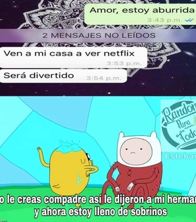 hora de aventura, whatsapp and finn