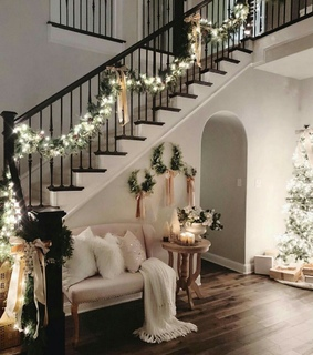 christmas time, dream home and house