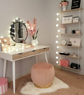 decoration, lights and room