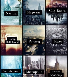 divergent, books and harry potter