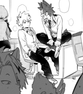 boku no hero academia, anime couple and bakugou