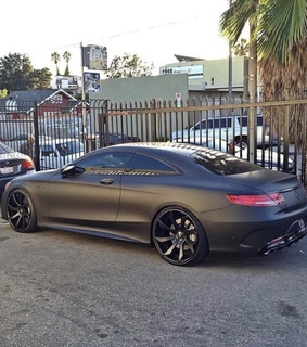 cyber, s coupe amg and matte black