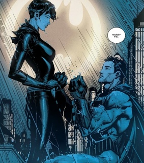 night, catwoman and dc comics