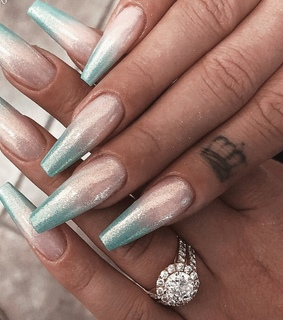 pink and blue, tumblr and girly inspo