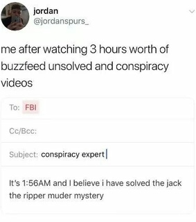 reaction, memes and conspiracy