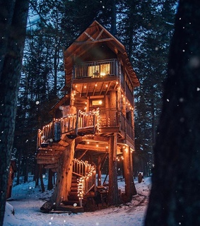 snow, snowy retreat and winter