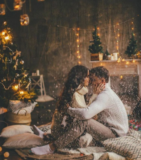 amor, christmas tree and love
