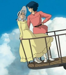 ghibli, sophie and howls moving castle