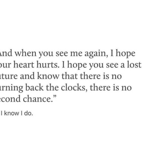 time, chance and see