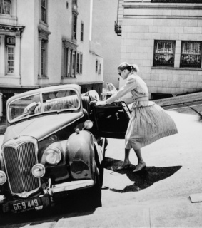 streets, vintage and 1950s