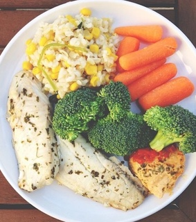 lunch, food and broccoli