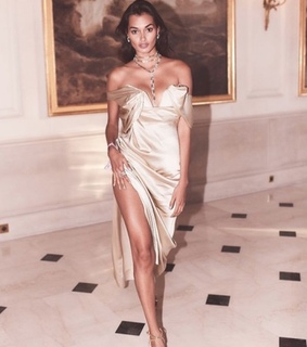 gold dress, luxury and fashion