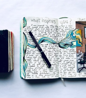 moleskine journals, bujo and journals