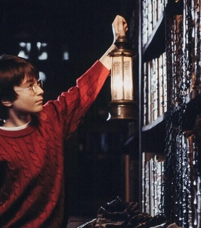 harry potter, bibliotheque and sorciers