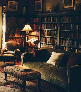 room, library and aesthetic