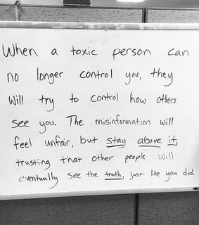 toxic, unfair and negativity