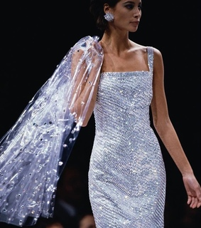 sparkle, glitter and christy turlington