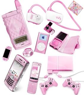 hello kitty core, pink and 2000s aesthetic