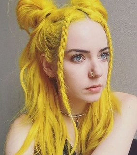 girl, yellow hair and beauti woman