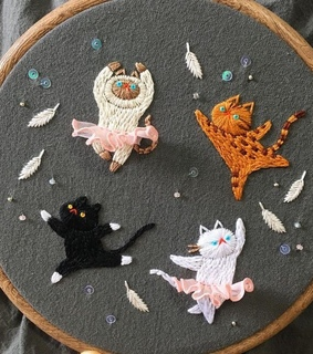 cat, kitten and handmade