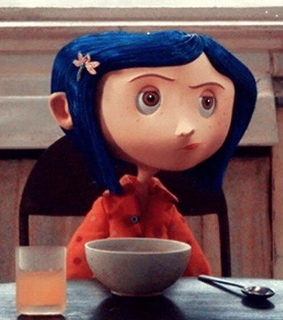 stop motion, girl and coraline