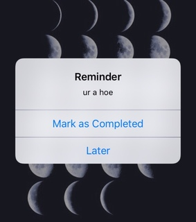 collections, wallpapers and reminders