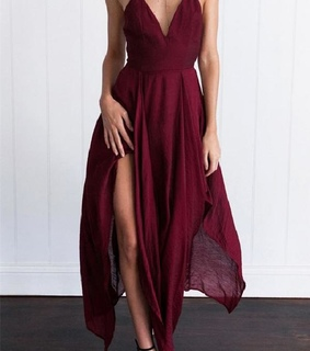 burgundy evening dresses, custom made prom dresses and 2018 evening dresses