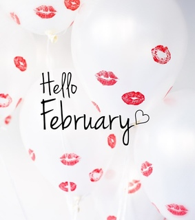 kiss, aesthetic and hello february
