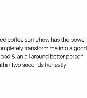 funny, actually me and iced coffee