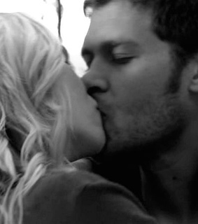 the vampire diaries, candice accola and klaus mikaelson