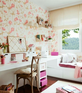 ideal room, color pallet and beautiful