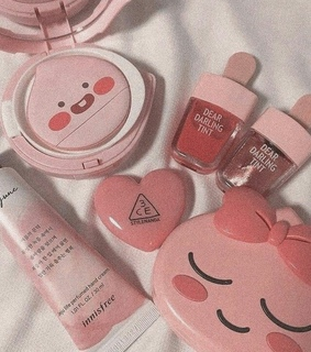 korean beauty, pink and aesthetic