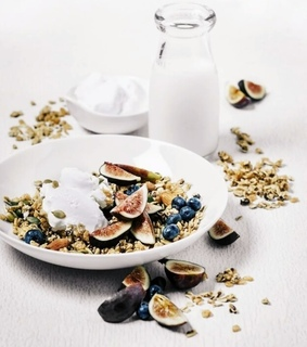 fruit, figs and morning
