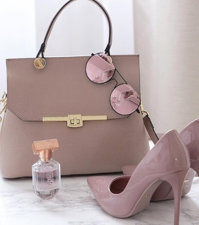 chaussure, bags and rose