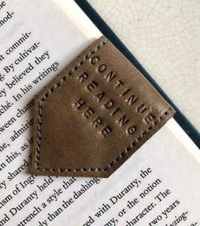 happy, leather and bookish