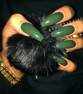 nailart, khaki and nail