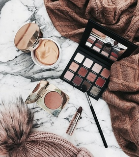 fall, pretty and makeup