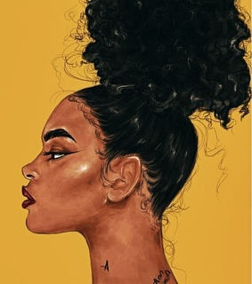 yellow, hairstyles and melanin