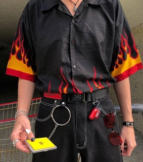 cool outfits, cyber goth and hypebeast